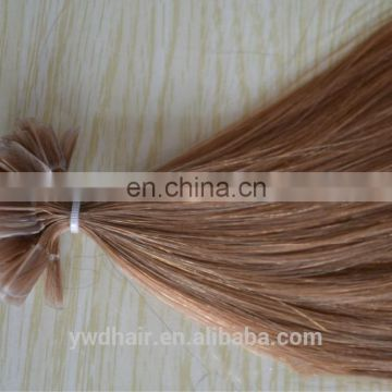 brazilian human virgin hair keratin i-tip hair extension factory supply