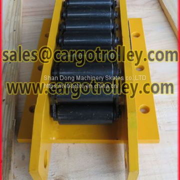 Machine moving equipment weight lightly