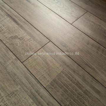 high glossy u-groove laminate floor 11mm 12mm