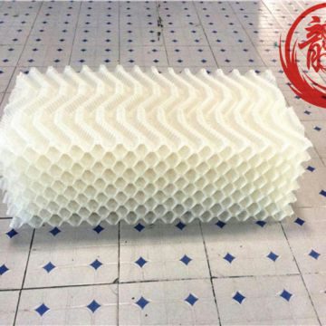 Cooling Tower Fill Material Oblique Wave Cooling Tower Fill 305mm Polypropylene
