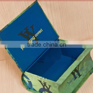 custom elegant paperboard storage gift box with excellent design