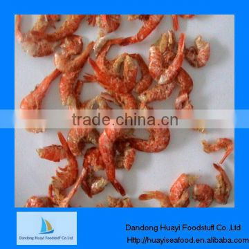 frozen dried red shrimp