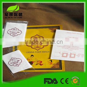 2015 Healthcare Products Original Factory OEM Detox Foot Patch, Bamboo Vinegar Detox Pads with CE