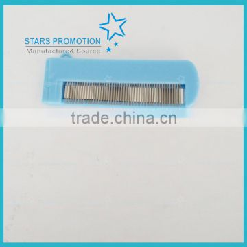 promotional mirrow with hair comb for gift or travel