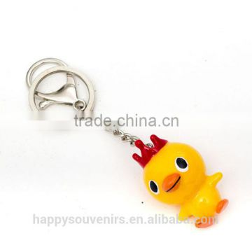 Custom 3d duck keychains for give away gift