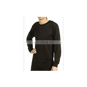 wholesale thermal 100% knitted silk long underwear for men