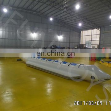 8 person ride Floating Dolphin inflatable water ski banana towable boat
