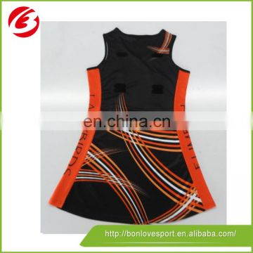 2015 Professional low price netball dresses