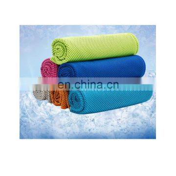 Cooling sports towel with multi package ways