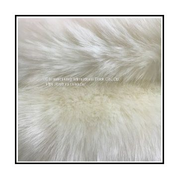 LONG HAIR FAKE FOX WOOL ARTIFICIAL FUR RAW MATERIALS