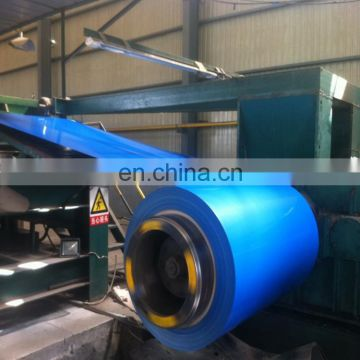 Prepainted GI steel coil / PPGI / PPGL color coated galvanized corrugated metal roofing sheet in coil