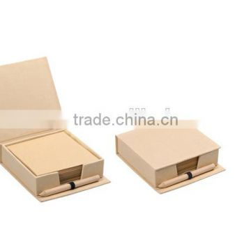 Good quality cardboard cover cube block note
