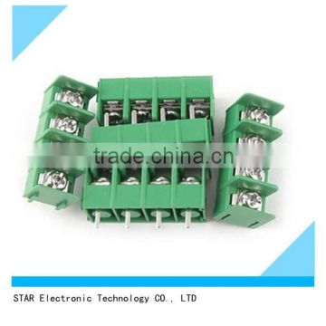 Green 4 pin pcb electrical 7.62mm 3.81mm 3.5mm 5mm 5.08mm pitch terminal on
