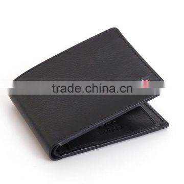 Mens leather bifold wallet coin pocket purse rfid wallet men                                                                         Quality Choice
