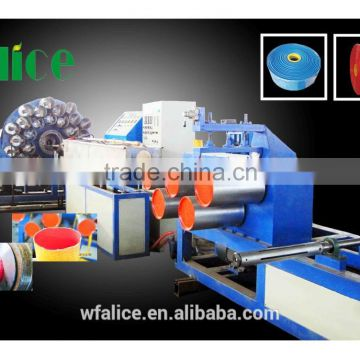 pvc lay-flat hose machine