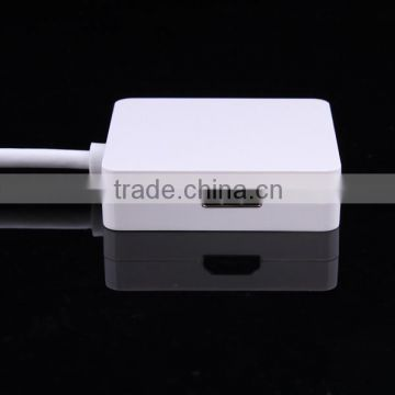 3 in 1 Mini Thunderbolt Display Port DP to HDMI DVI VGA Adapter cable for Apple for MacBook Pro Mac Air