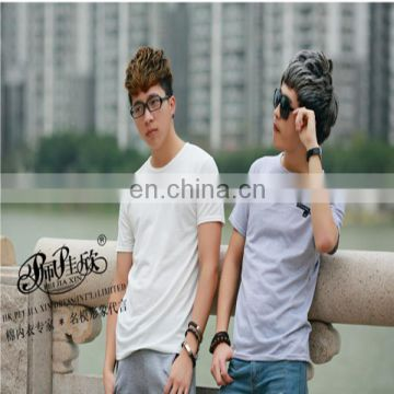 Peijiaxin Latest Design Casual Style Wholesale Cheap Round Neck Boys Fashion T shirt