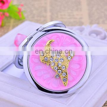 starfish Metal Wedding Gifts Pocket Mirror Travelling Souvenirs Compact Mirror Flower Elegant Compact Mirror