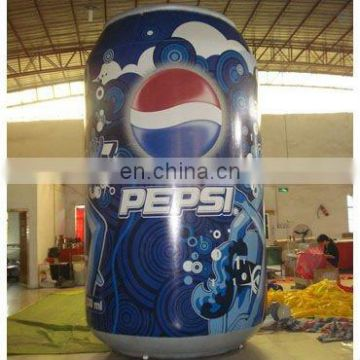 Inflatable can replica/ advertising model/cartoon/character shape/