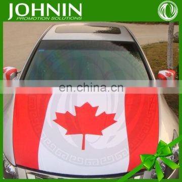 NO MOQ OEM polyester decorate national car engine hood covers
