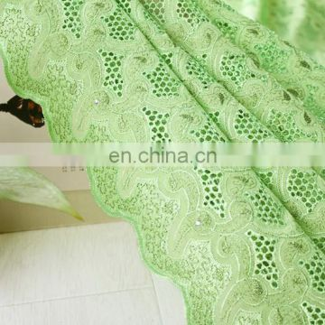 high quality african dry lace fabric