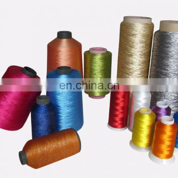 Polyester Embroidery Thread 120D/2 Raw White Bright Trilobal 1KG Dyed Tube