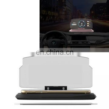 Drop Shipping 16.0*9.7*9.2cm Mobile Phone Mount Stand Universal for Car GPS Navigation Bracket HUD Head Up Display,with Silicone