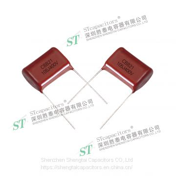 CBB21 Metallized Polypropylene Film Capacitor