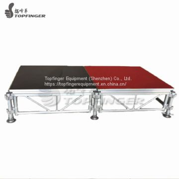 Sell DIY Mobile Adjustable Portable Detachable Aluminum Church Entertainment Design Stage Platform For Sale