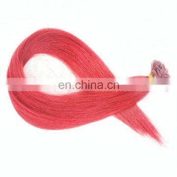 wholesale pre-bonded hair extension brazilian hair flat tip 1g strand