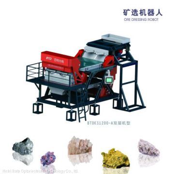 Belt type artificial intellgent mineral ore color sorter with best quality China manufacture