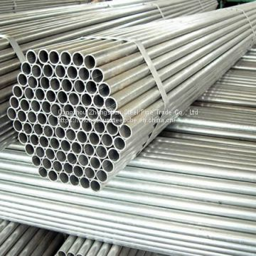 0.4 inch x 2- 2.5 mm Hot-dip Galvanized Steel Pipe/Tube for Fluid, Construction, Structure, Build
