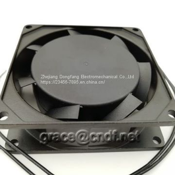 CNDF from china supplier provide industrial ventilation fan size 80x80x25mm 220/240VAc ac cooling fan TA8025HSL-2
