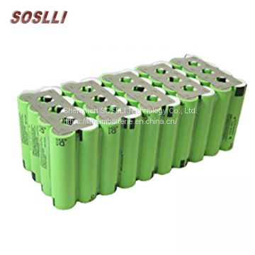High safety non explosive 36V 12Ah lithium iron phosphate LiFePO4 battery pack
