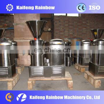 Hot selling Food Colloid mill grinding machine for sesame, cucumber, peanut,chilli sauce making machine