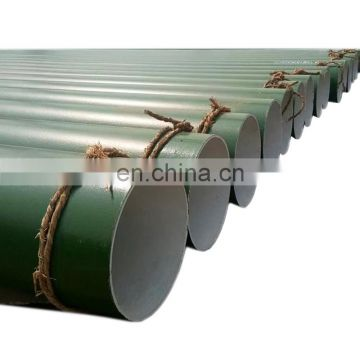 High quality epoxy resin coated anti-corrosion steel pipe for medium fluming water Manufacturer