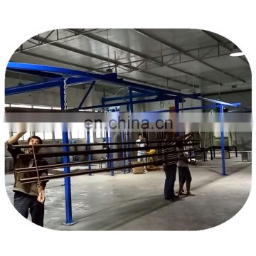 powder coating line for steel cabinet/aluminium profiles/oven