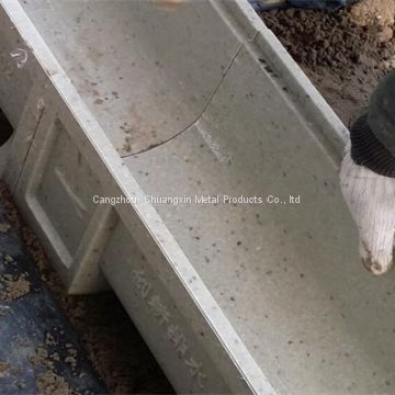 Polymer Concrete Channel with Galvanized or stainless grating