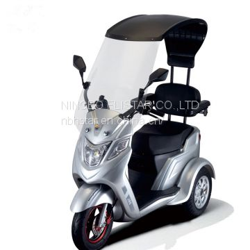 Disabled person tricycle/three wheel scooter for old people/trycicle
