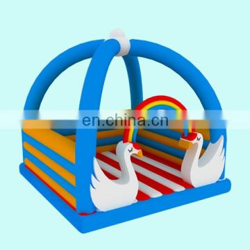 new swan inflatable bouncer