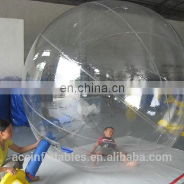 2017 High Quality Transparent inflatable water ball for adult,zorb for sale