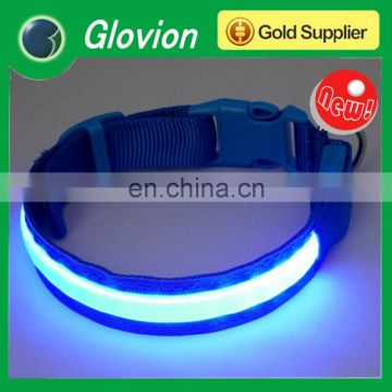 Glovion pet trainer collar light up led pet collar super bright led pet collar