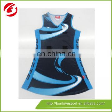 2015 Fashional new style netball jersey In China