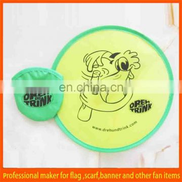 Advertising cheap custom frisbee for children's toy