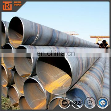 Cement lined spiral steel pipe with favorable price