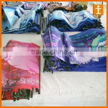 Vinyl Flags & Banners Material and Printed Type hanging fabric banner                                                                         Quality Choice