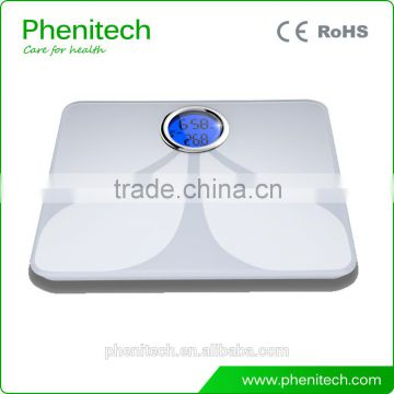 Body fat scale bluetooth electronic bathroom weighting scale with CE                                                                                                         Supplier's Choice