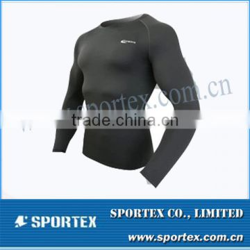 CP-1321 famous brand compression shirt,mens compression shirt, compression shirt
