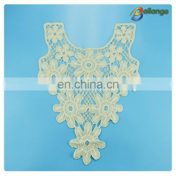cotton crochet collar lace for ladies dress
