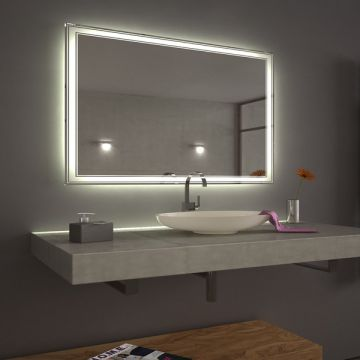 High Quality Touch Screen Illuminated Backlit Led Bathroom Mirrors